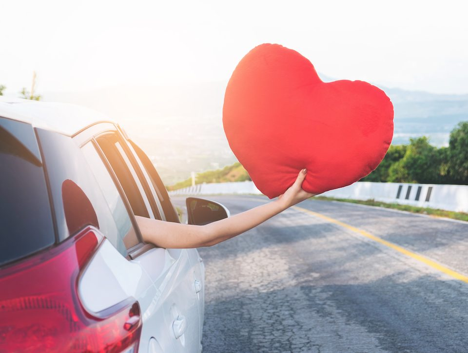 valentine's day show your car love
