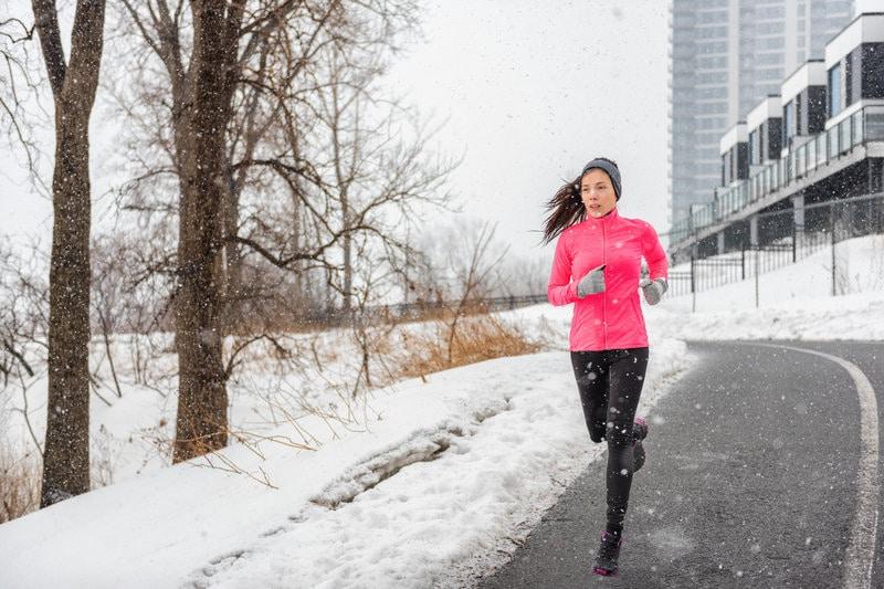 car safety - winter running